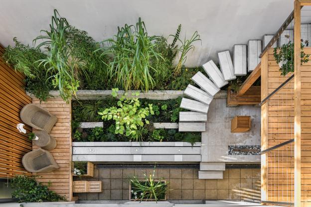 Wooden-Concrete Deck