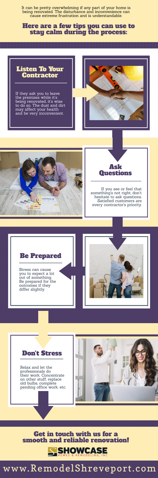 Tips for Coping Up During a Renovation