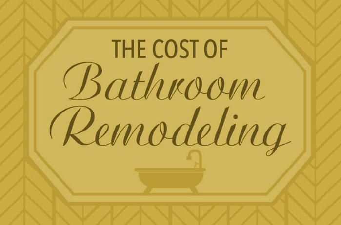 The Cost of Bathroom Remodeling - Feat
