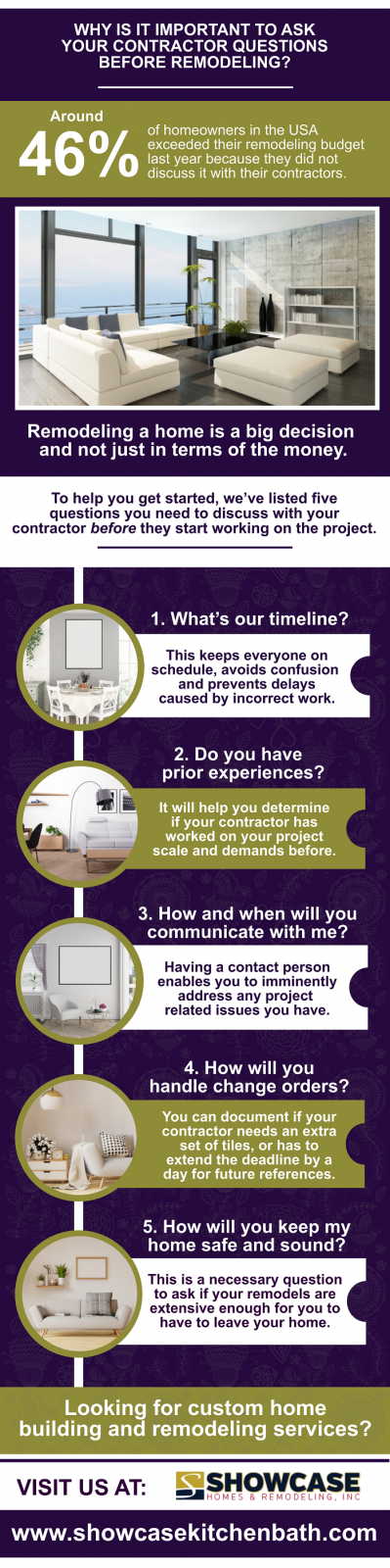 Questions to Ask Your Home Remodeling Contractor