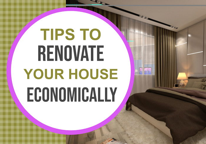 Tips to Renovate Your House Economically - Feat