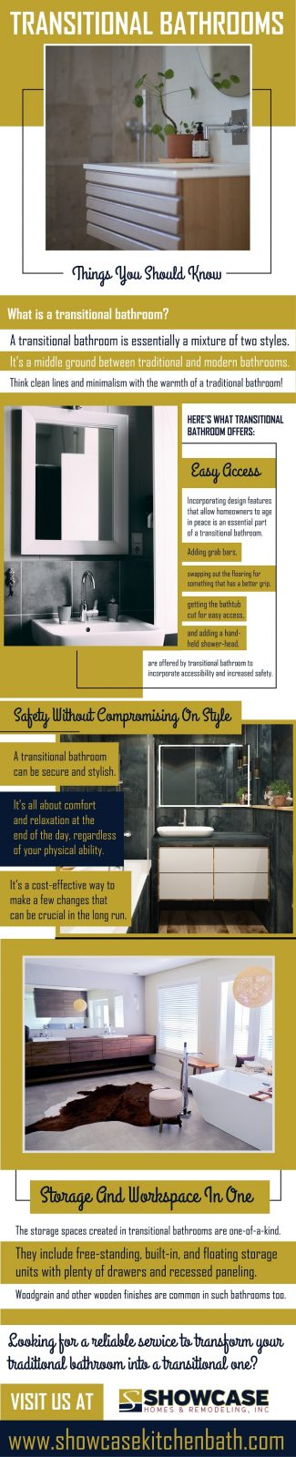 Transitional Bathrooms - Things You Should Know